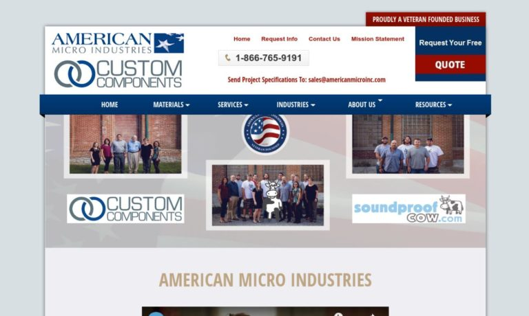 American Micro Industries, Inc.