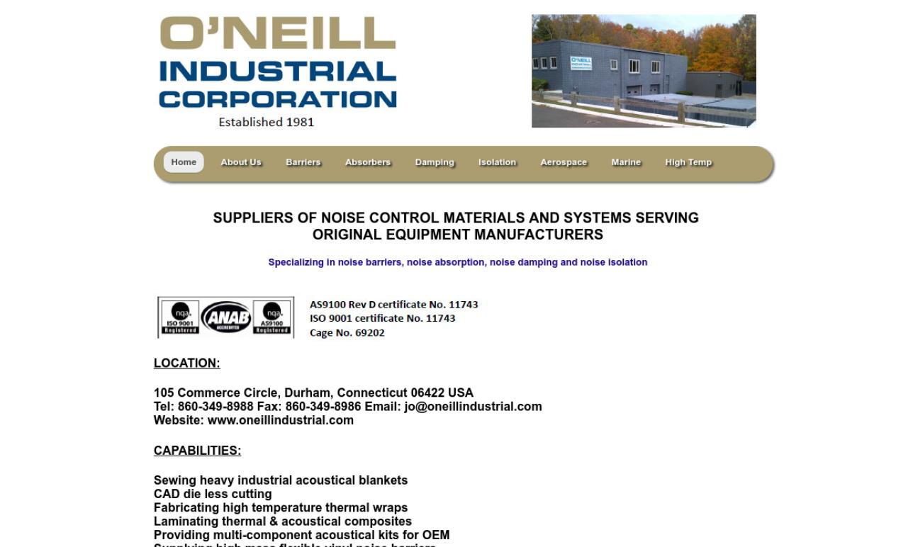 O'Neill Industrial Corporation